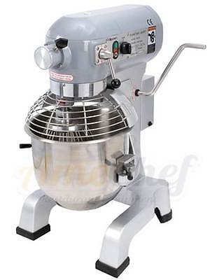 New Adcraft Planetary 20 Qt Mixer Etlnsf With 3 Attachments And Hub Pm-20