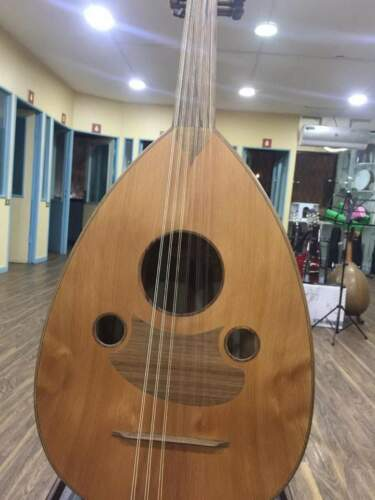 ARABIC HANDMADE WAL-NUT STRING INSTRUMENT OUD UD AAO-180M Made by Zeryab