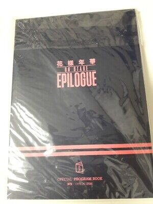 BTS Bangtan Boys 2016 Live On Stage HYYH Epilogue Official PROGRAM BOOK Cheap
