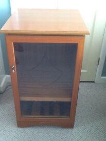 Hi Fi cabinet in teak