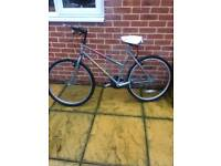 "Astra starfighter ladies bike, 26"" wheels in good working order"