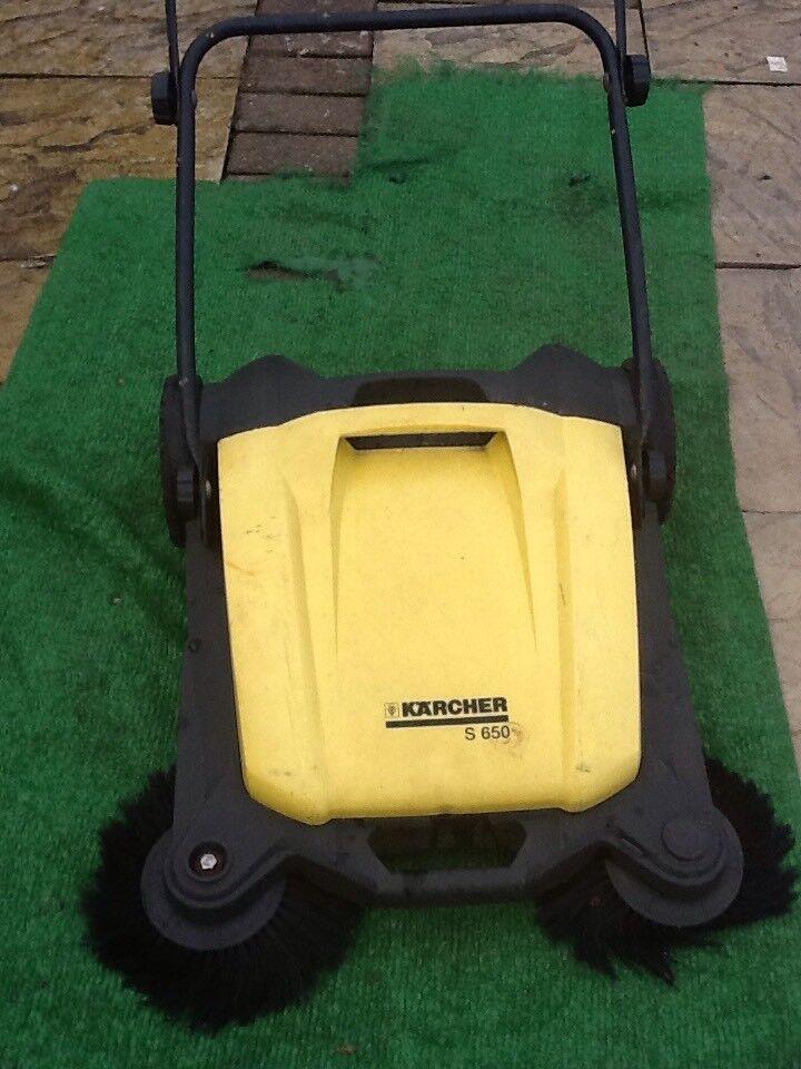 Karcher S650 Garden Sweeper In Huthwaite