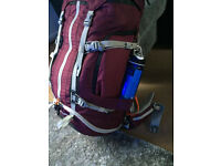 Brand NEW! Hiking/traveling back pack & walking shoes