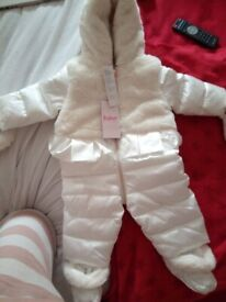 baker by ted baker snowsuit - new