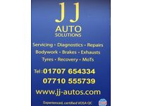 MOTs, service, repairs & recovery 01707654334 - 07710555739