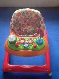 Red Kite Baby Walker w/ Activity tray