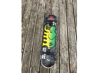 Skateboard with very good parts and not used very much