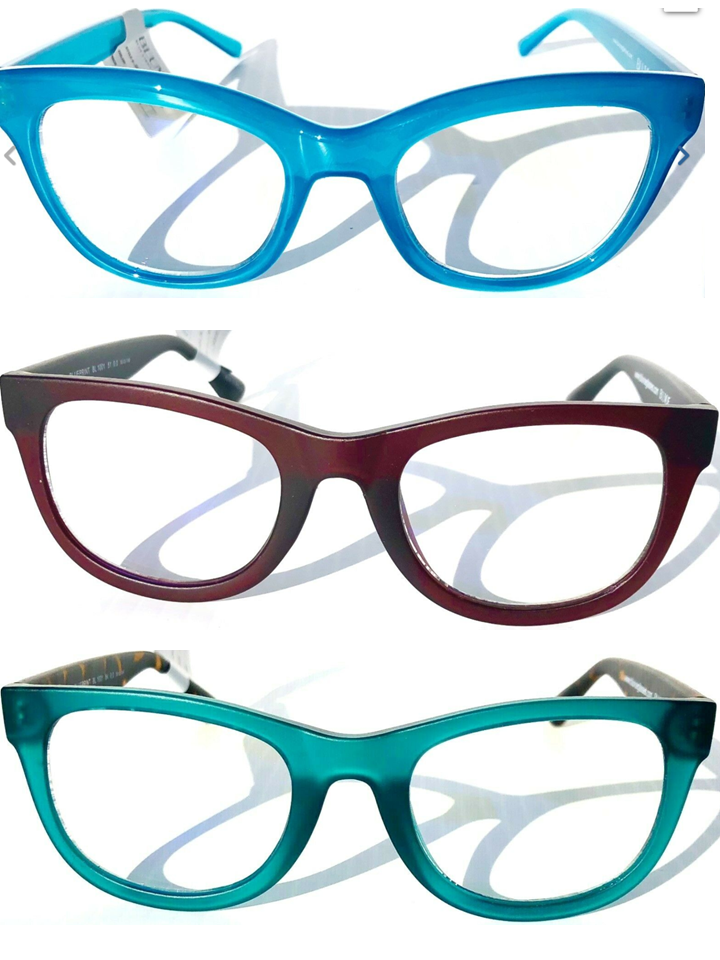 WOMEN'S BLUE LIGHT Blocking FASHION Reader Glasses Computer