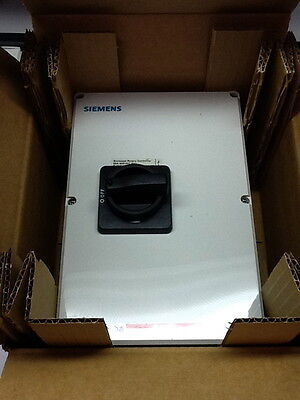 Siemens Hnf3060cj Motor Disconnect Rotary Switch 60a 600v 3-pole New In Box