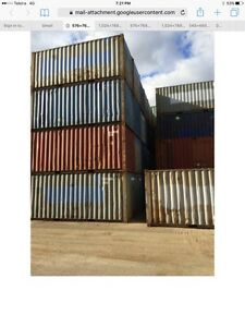20 ft shipping containers Ulladulla Shoalhaven Area Preview