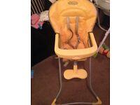 Gracco high chair.