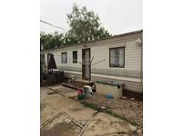 static caravan free to collect (breaking)