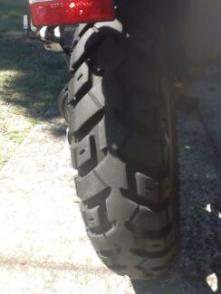 Off road tyres for triumph explorer. 2014  model