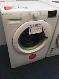 EX-DISPLAY HOOVER 10 KG 1400 SPIN A+++ WASHING MACHINE REF: 31548