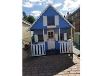 Beautiful kids wooden play house