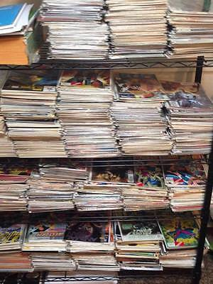 PART OF MY 5,000 COMIC BOOK COLLECTION* MARVEL DC  *X-MEN*AVENGERS*SPIDER-MAN*