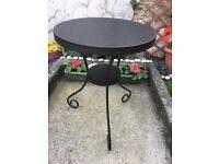 Metal garden black IKEA tables