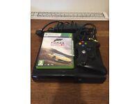 Xbox 360 with forza horizon 2
