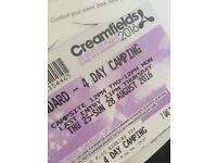 Creamfields Standard 4 Day Camping Ticket