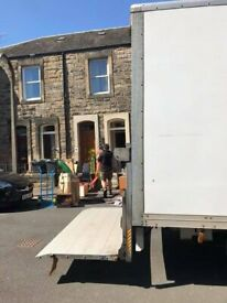 Central Scotland movers- fully insured. Give us a call.