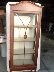 Glass China Cabinet Claremont Nedlands Area Preview