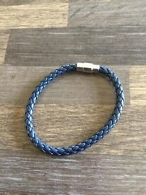 Leather unisex single band bracelets. £4. Can post or collect from Tqy
