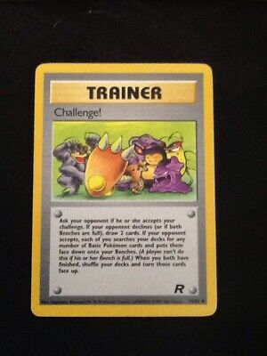 Trainer Koga 19//132 1st Edition NM Gym Challenge Holofoil Rare Holo Pokemon