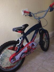 "SpiderMan bmx bike 16"""