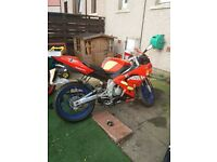 aprilia rs 50 2009 with 90 cc big bore lots of spares