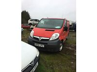 Vauxhall Vivaro 2.0 Parts 6 speed gearbox