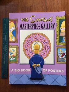 Simpsons Poster Book
