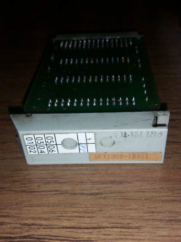 SIEMENS 6FX1808-1BX01 SINUMERIK 850M RAM CARD MODULE-1 PCB CIRCUIT BOARD