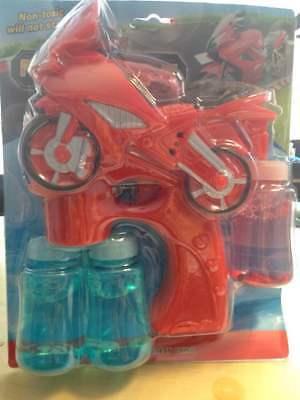 Led Bubble Gun Wholesale (WHOLESALE LOT OF 6 LED Flashing Light Up Bubble Gun Battery Operated Kids)