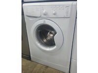 b380 white indesit 6kg washing machine comes with warranty can be delivered or collected
