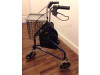 3 wheel walker zimmer frame