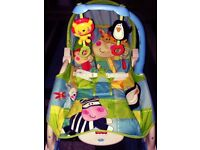 Fisher prince baby rocker with toy bar