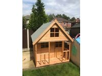 6x6 Fully T&G Playhouse - TOP QUALITY Brand new - Collection - MUST GO.