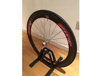Zipp 404 carbon tubular race rear wheel