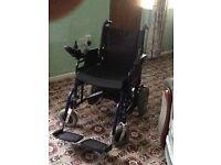 Electric Wheelchair non folding