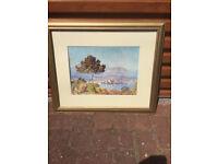 2 x monet framed prints £10