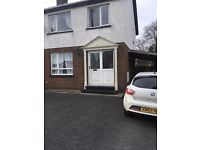 Fully Furnished 3 bedroom semi detached house for rent