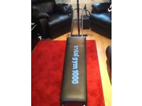 For sale total gym 1000 great for lower body & upper body workouts also folds up to put away