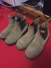 Mens steel capped work boots size 10 size 9 Camira Ipswich City Preview