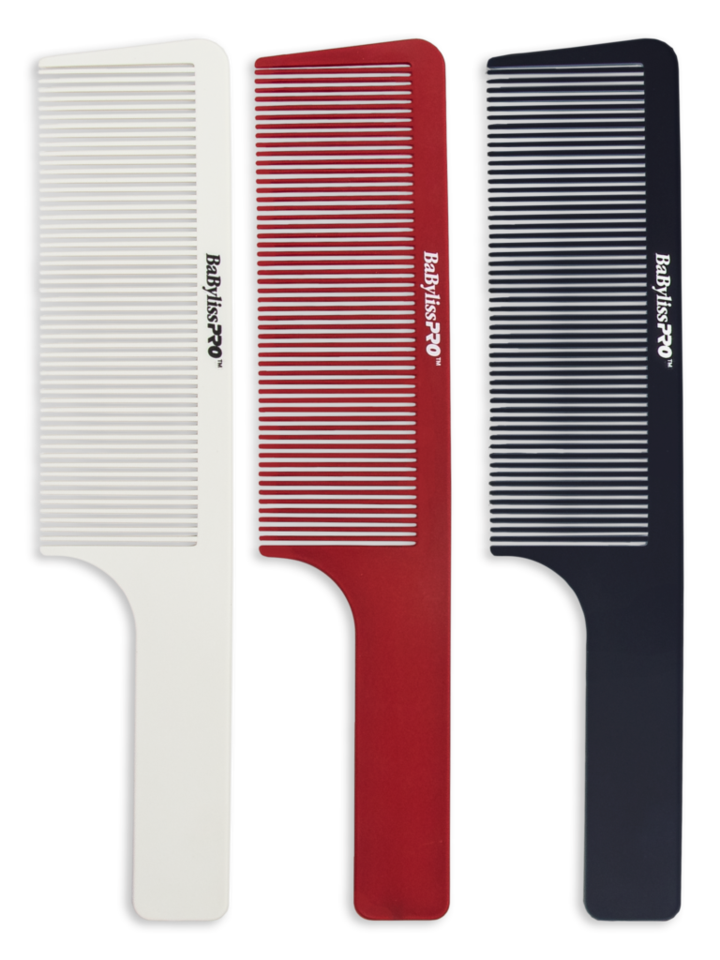BaByliss PRO Barberology Barber Clipper Combs Black, Red, or White NEW