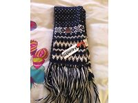 Brand new with tags Superdry Scarf