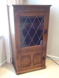 Old Charm music system cabinet