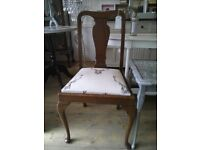 Set of Vintage Reupholstered CHAIRS.