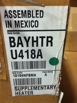 Trane Bayhtru418a Supplementary Heater