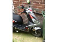 Generic 125 cc moped
