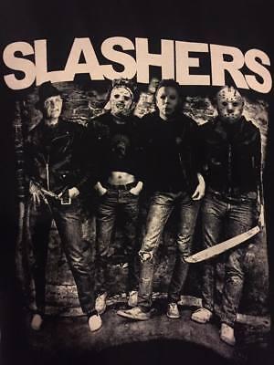Slashers - Ramones T-shirt Halloween Michael Myers Leatherface - Halloween Michael Myers T Shirt
